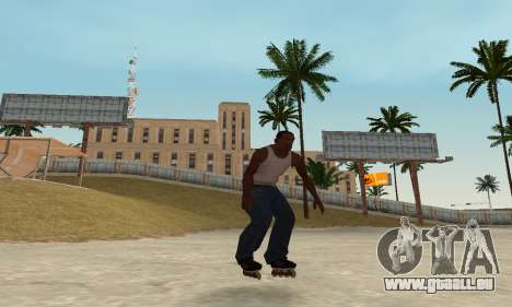 Patins de rouleau pour GTA San Andreas quatrième écran