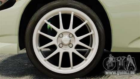 Honda S2000 für GTA 4 Rückansicht