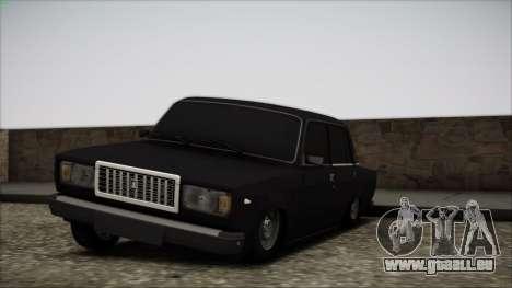 VAZ-2107 für GTA San Andreas Seitenansicht