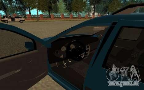 Lada Largus pour GTA San Andreas vue arrière