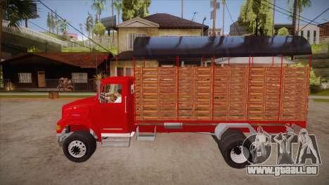 International 4700 pour GTA San Andreas laissé vue
