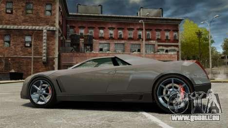Cadillac Cien XV12 [EPM] pour GTA 4 est une gauche