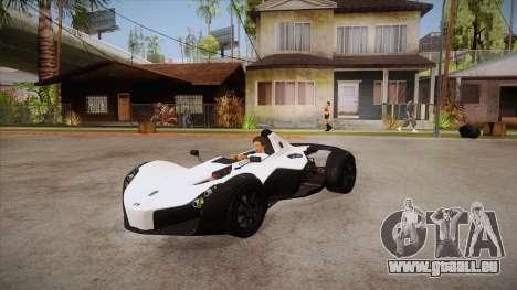 BAC Mono 2011 pour GTA San Andreas