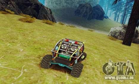 Joker prototype UAZ pour GTA San Andreas vue de dessus