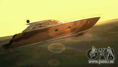 Cartagena Delight Luxury Yacht pour GTA Vice City