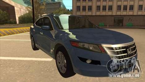 Honda Crosstour 2012 pour GTA San Andreas laissé vue