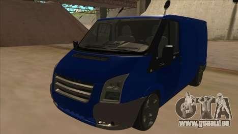 Ford Transit Swb 2011 Stance pour GTA San Andreas