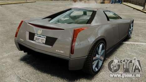 Cadillac Cien XV12 [EPM] pour GTA 4 Vue arrière de la gauche