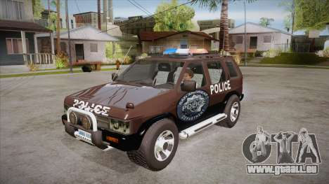 Nissan Terrano RB26DETT Police für GTA San Andreas
