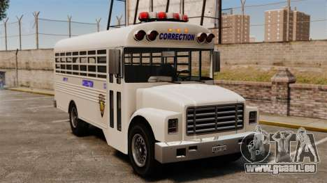 Le bus de la prison Liberty City pour GTA 4