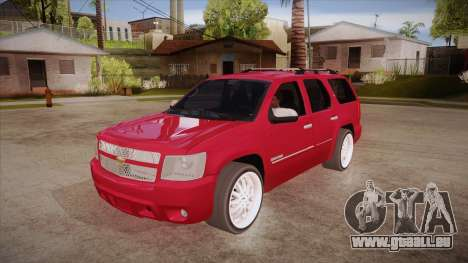 Chevrolet Tahoe LTZ 2013 Custom pour GTA San Andreas
