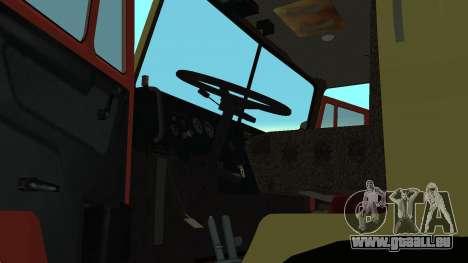 Feux de détresse KAMAZ 4310 pour GTA San Andreas vue de droite