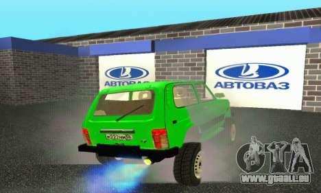 Nouveau garage de Doherty pour GTA San Andreas cinquième écran