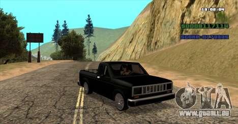 NEW Bobcat für GTA San Andreas linke Ansicht
