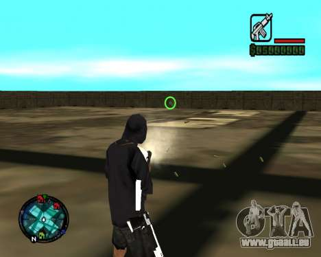 Cleo Gun for SA:MP (dgun) für GTA San Andreas sechsten Screenshot