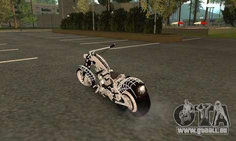 Black Widow für GTA San Andreas zurück linke Ansicht