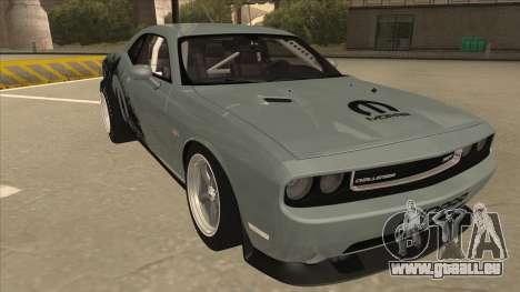 Dodge Challenger Drag Pak pour GTA San Andreas laissé vue