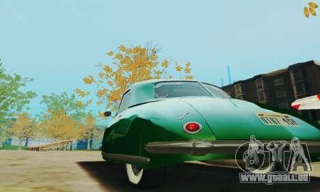 Davis Divan 1948 pour GTA San Andreas vue arrière
