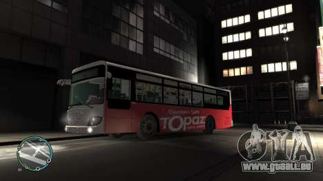 Daewoo BC211MA Baku pour GTA 4 est une gauche