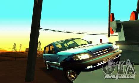 21236 Chevrolet Niva VAZ pour GTA San Andreas vue de côté