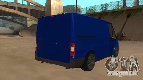 Ford Transit Swb 2011 Stance für GTA San Andreas rechten Ansicht