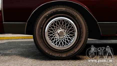 Chevrolet Caprice Wagon 1989 pour GTA 4 Vue arrière