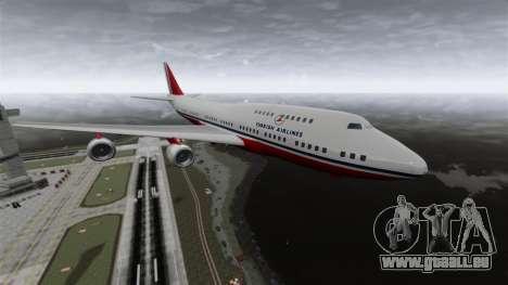 L'avion de Turkish Airlines pour GTA 4