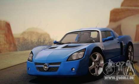 Opel Speedster Turbo 2004 pour GTA San Andreas roue