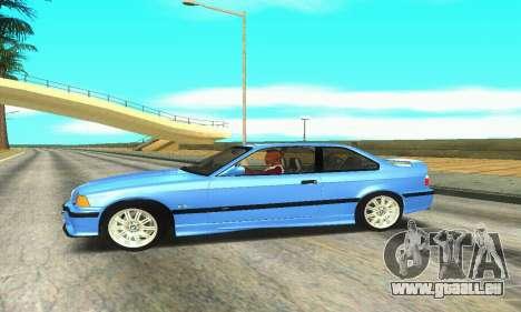 BMW M3 (E36) pour GTA San Andreas laissé vue