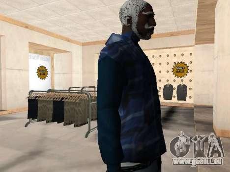 Die neue CJ-Jacke für GTA San Andreas dritten Screenshot