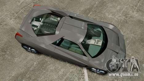 Cadillac Cien XV12 [EPM] pour GTA 4 est un droit