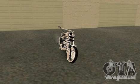 Black Widow für GTA San Andreas linke Ansicht