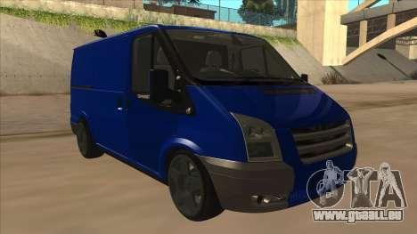 Ford Transit Swb 2011 Stance pour GTA San Andreas laissé vue