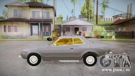 Curseur de FlatOut pour GTA San Andreas laissé vue