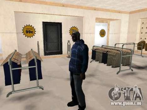 Die neue CJ-Jacke für GTA San Andreas her Screenshot