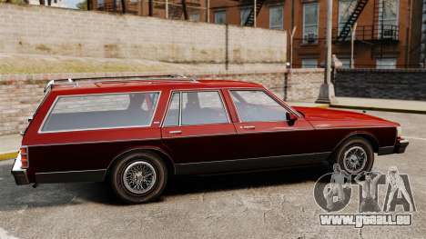 Chevrolet Caprice Wagon 1989 pour GTA 4 est une gauche