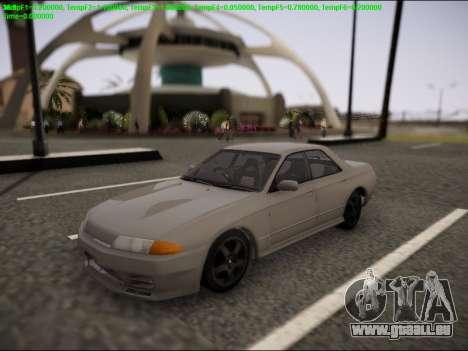 Nissan Skyline R32 pour GTA San Andreas vue de côté