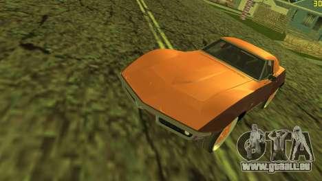 Chevrolet Corvette C3 Tuning pour GTA Vice City vue latérale