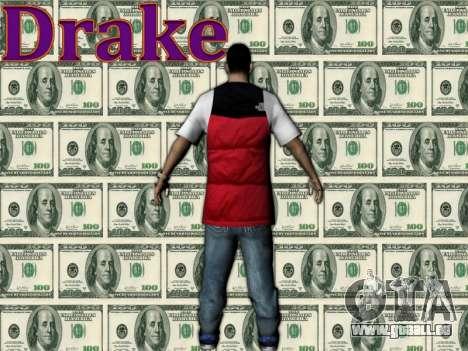 Drake pour GTA San Andreas deuxième écran