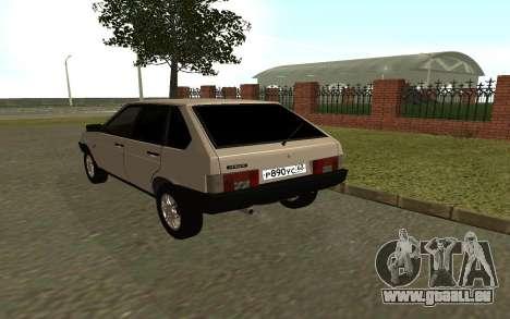 VAZ 21093 pour GTA San Andreas vue de droite
