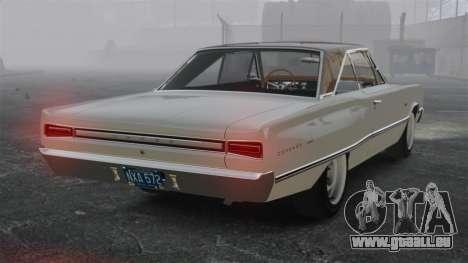 Dodge Coronet 440 1967 pour GTA 4 Vue arrière de la gauche