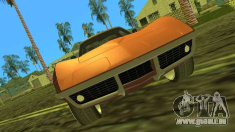 Chevrolet Corvette C3 Tuning pour une vue GTA Vice City de la gauche