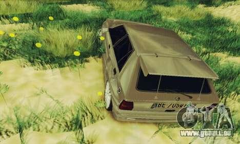 Lancia Delta HF Integrale für GTA San Andreas Rückansicht