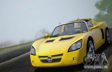 Opel Speedster Turbo 2004 für GTA San Andreas Motor