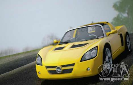 Opel Speedster Turbo 2004 pour GTA San Andreas moteur