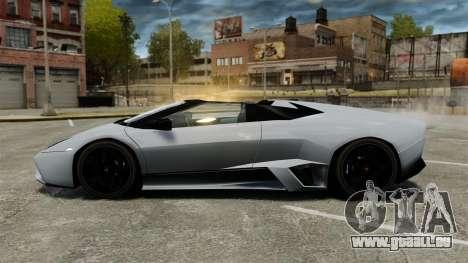 Lamborghini Reventon Roadster 2009 für GTA 4 linke Ansicht