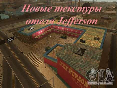 Nouvelles textures à Jefferson pour GTA San Andreas