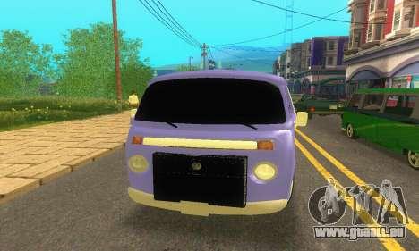 VW Kombi ESCOLAR für GTA San Andreas rechten Ansicht