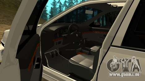 Peugeot 406 Grizzli pour GTA San Andreas vue de côté