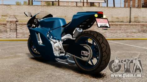 Ducati Desmosedici RR 2012 pour GTA 4 est une gauche